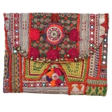 Vintage-Look Laptop Tasche colourful von Tribal Art