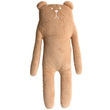 XXL supersoft Teddybär braun